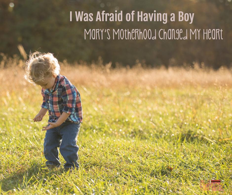Afraid Of Having A Boy Fb - I Was Afraid Of Having A Boy. Mary's Motherhood Changed My Heart - Gifted/2e Parenting