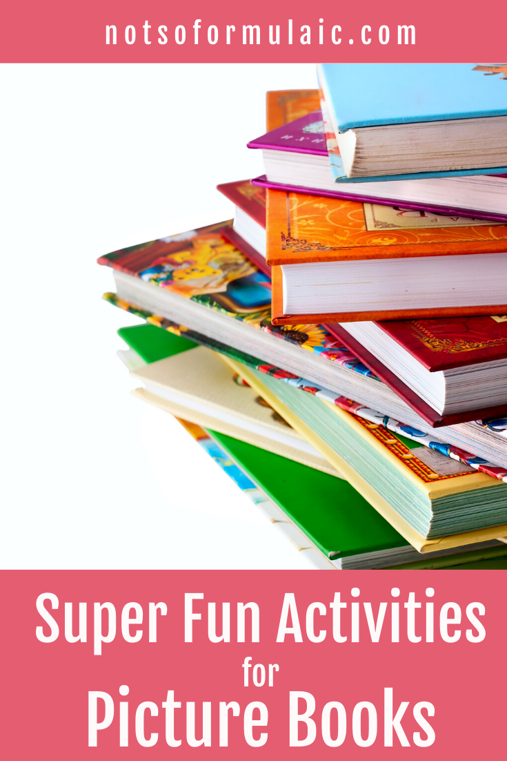 Picture Book Activities 1 - 5 Fun Picture Book Activities For All Ages - Even Grown-ups - Gifted/2e Education