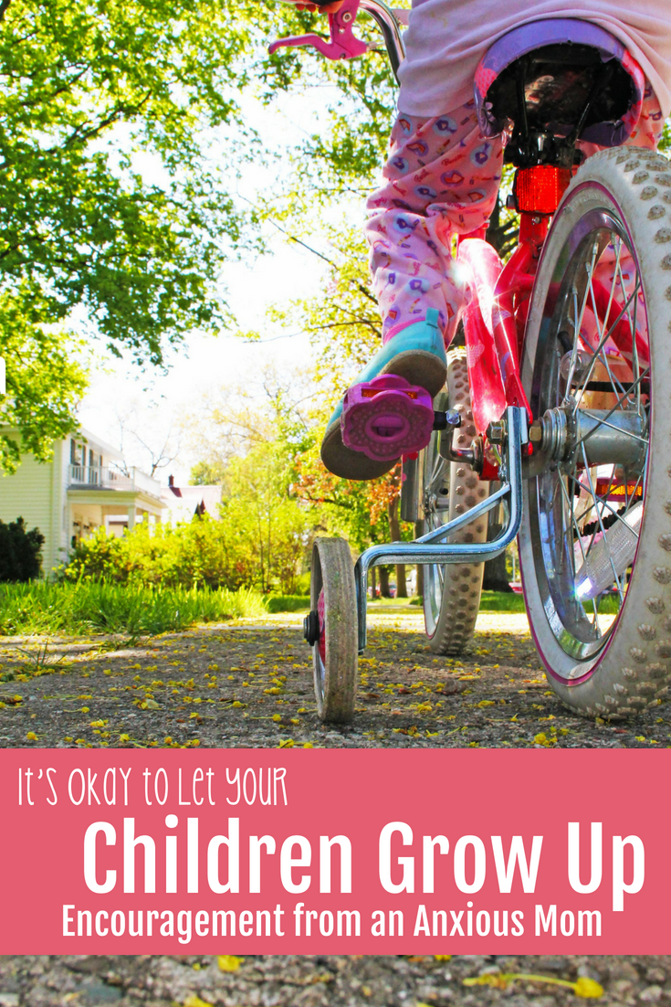 Letting Children Grow Up And Move On Can Be Scary For Us As Parents If We Learn To Listen To Our Children However They Can Lead Us Where They Need To Go - My Daughter Learned To Ride A Bike. I Learned To Let My Anxiety Go. - Gifted/2e Parenting