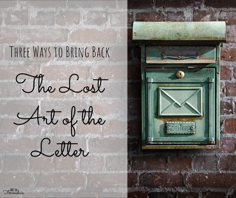 Lostartoftheletter - 3 Simple Ways To Bring Back The Lost Art Of Letter Writing - Gifted/2e Education