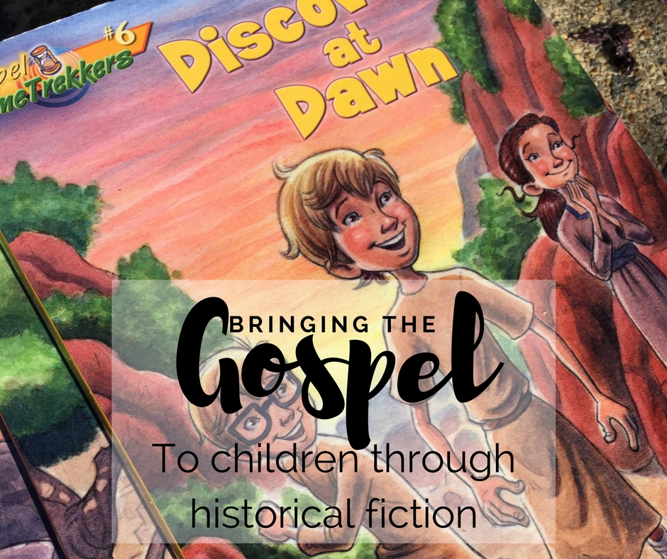 The Gospel Time Trekkers Series Is A Great Way To Bring The Gospel To Children - The Gospel Time Trekkers Series (what To Read Wednesday) - Gifted/2e Faith Formation