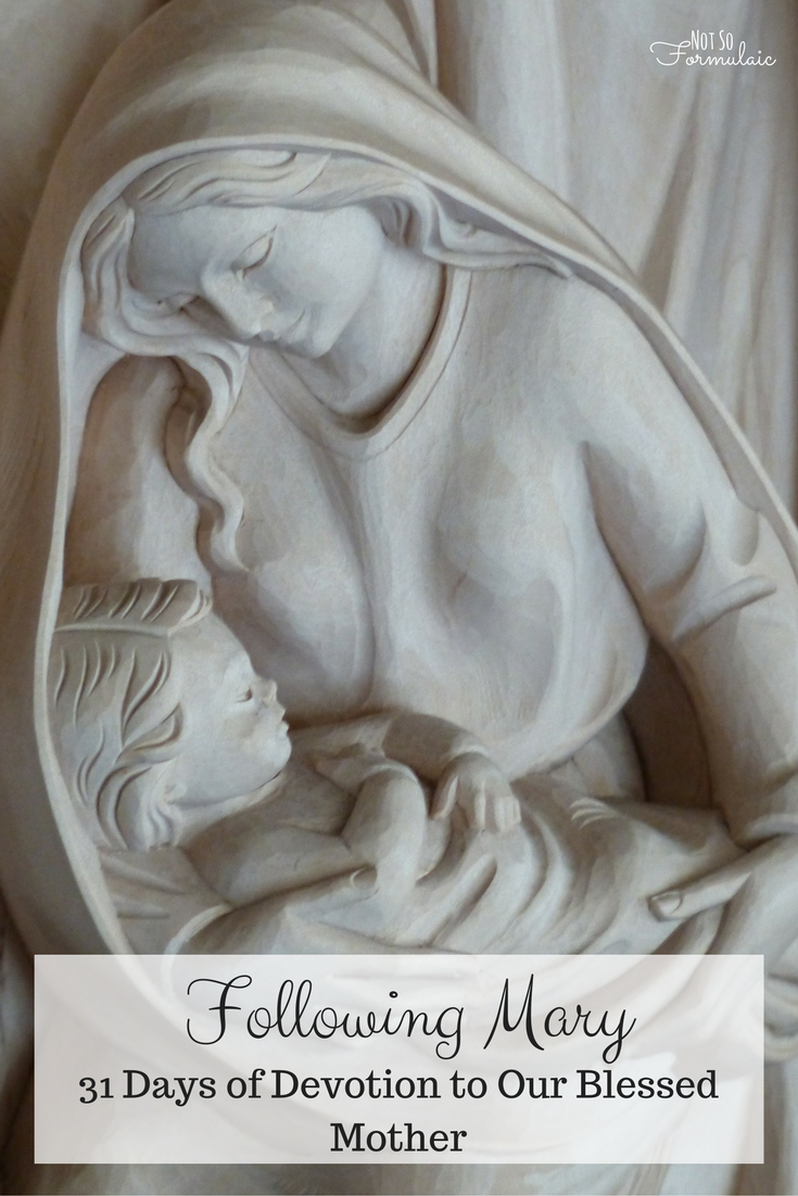 Following Mary: 31 Days of Devotion to our Blessed Mother