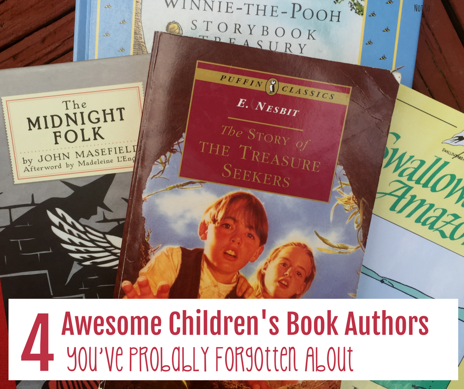 Vintagefacebook - 4 Awesome Children's Book Authors You've Probably Forgotten About - Gifted/2e Education