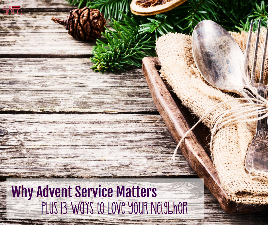 Adventservice - Why Advent Service Matters, Plus Thirteen Ways To Love Your Neighbor (5 Days Of Advent Traditions For Catholic Families) - Gifted/2e Faith Formation
