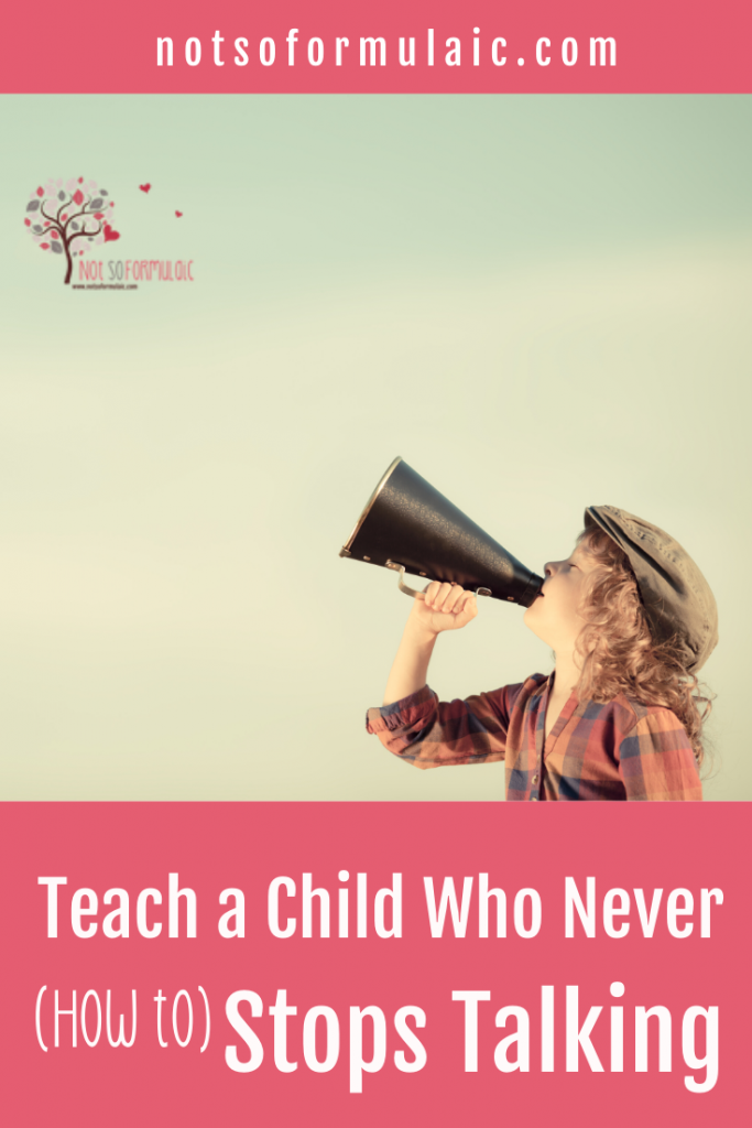 "How To Teach A Child Who Never Stops Talking - How To Reach A Talker: Handling The ""difficult"" Student In Your Homeschool Co-op - Gifted/2e Education"