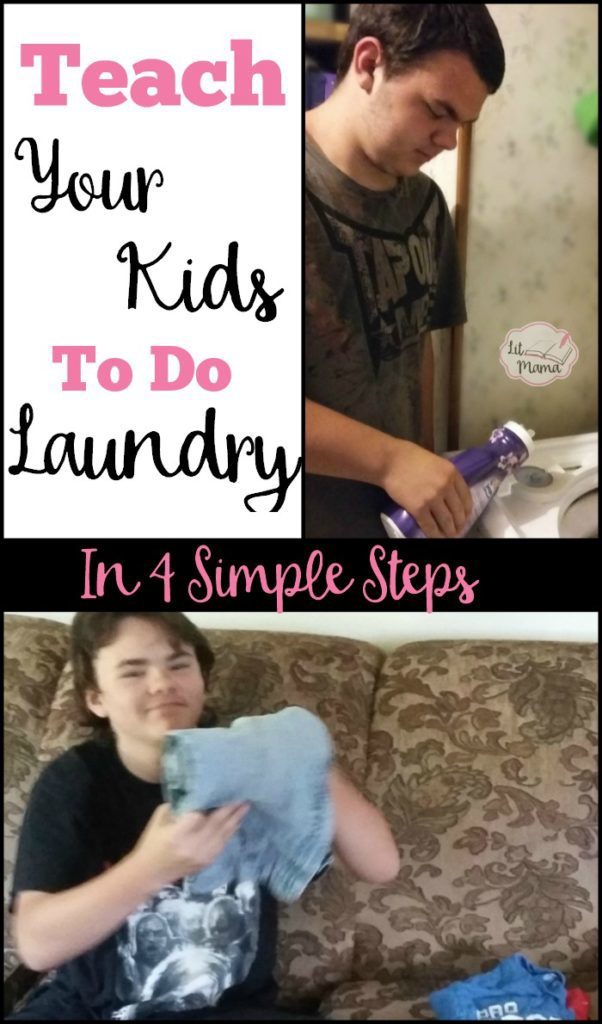 Screen Free Summer Life Skills Bingo Teach Your Kids To Do Laundry In 4 Simple Steps - Gifted/2e Parenting