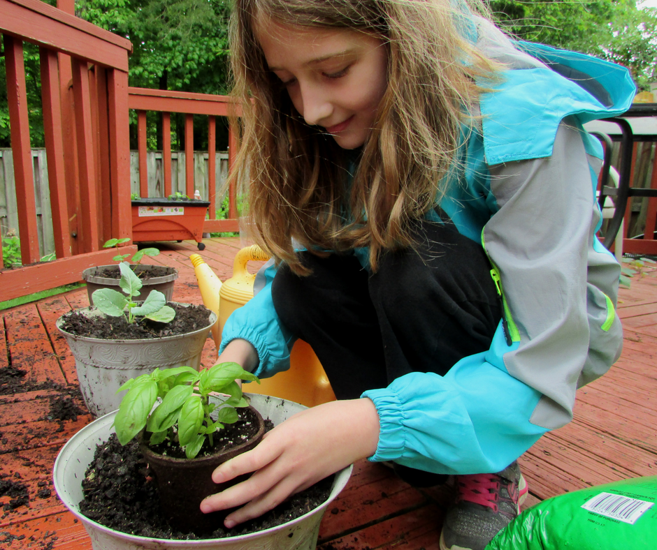 Planting2 - Screen-free Summer Life Skills Bingo: Grow Your Own Food - Gifted/2e Parenting