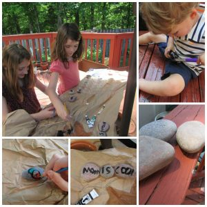 Rockpainting - Hands-on Literacy At Home With A Diy Word Garden - Gifted/2e Education
