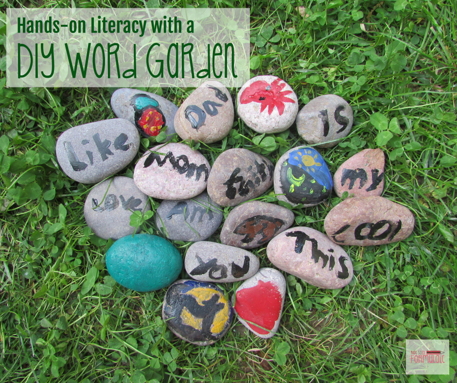 Word Garden - Hands-on Literacy At Home With A Diy Word Garden - Gifted/2e Education