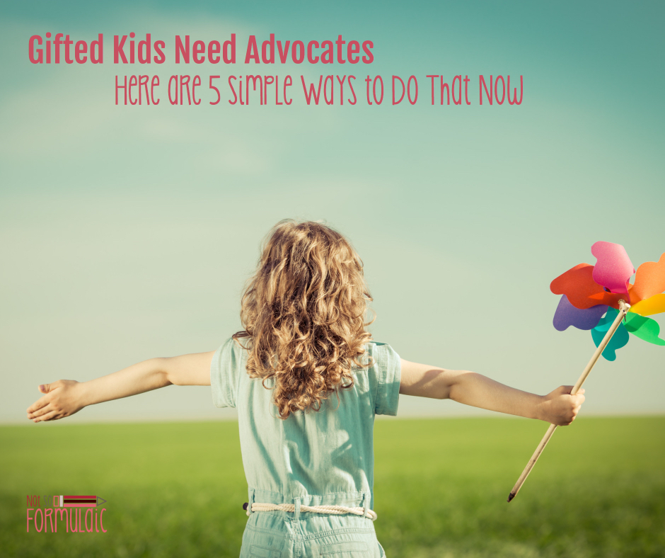 Advocate Gifted Child 2 - Gifted Kids Need Advocates. Here Are 5 Simple Ways To Do That Now. - Gifted/2e Parenting