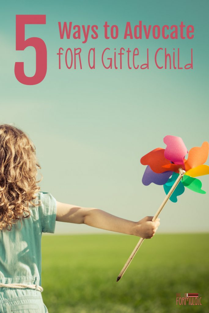 Advocate Gifted Child Pin - Gifted Kids Need Advocates. Here Are 5 Simple Ways To Do That Now. - Gifted/2e Parenting