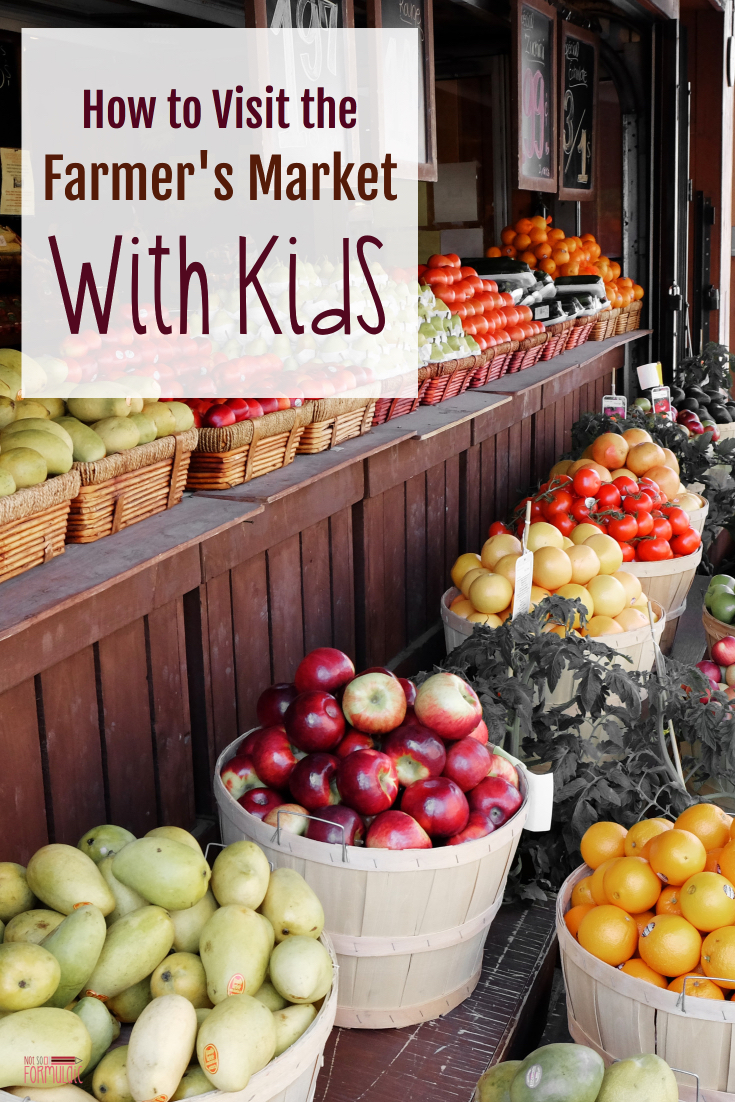 Farmersmarketpin - How To Visit The Farmer's Market With Kids: Screen-free Summer Life-skills Bingo - Gifted/2e Parenting
