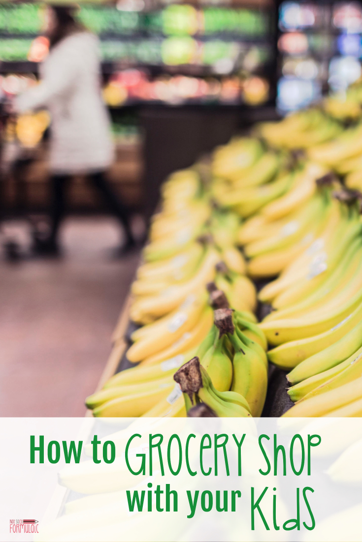 Groceryshop - Screen-free Summer Life Skills Bingo: How To Grocery Shop With Kids - Gifted/2e Parenting
