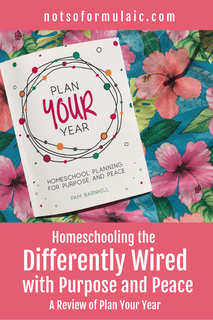 Homeschool Differently Wired - How To Homeschool The Differently-wired With Purpose And Peace: Pam Barnhill's Plan Your Year