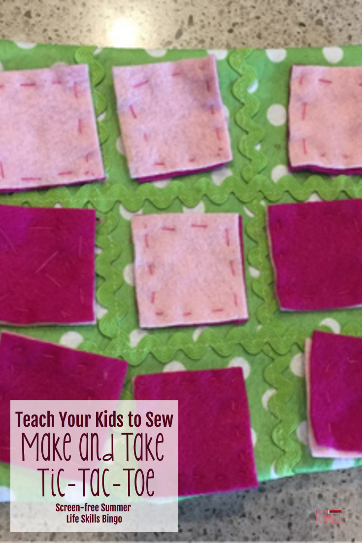 Teachyourkidstosewpin - Teach Your Kids To Sew With Make And Take Sewing (screen-free Summer Life Skills Bingo) - Gifted/2e Parenting
