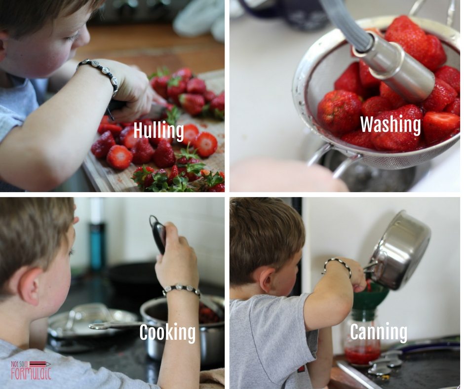 Huling - How To Make Strawberry Jam With Kids (screen-free Summer Life Skills Bingo) - Homeschool
