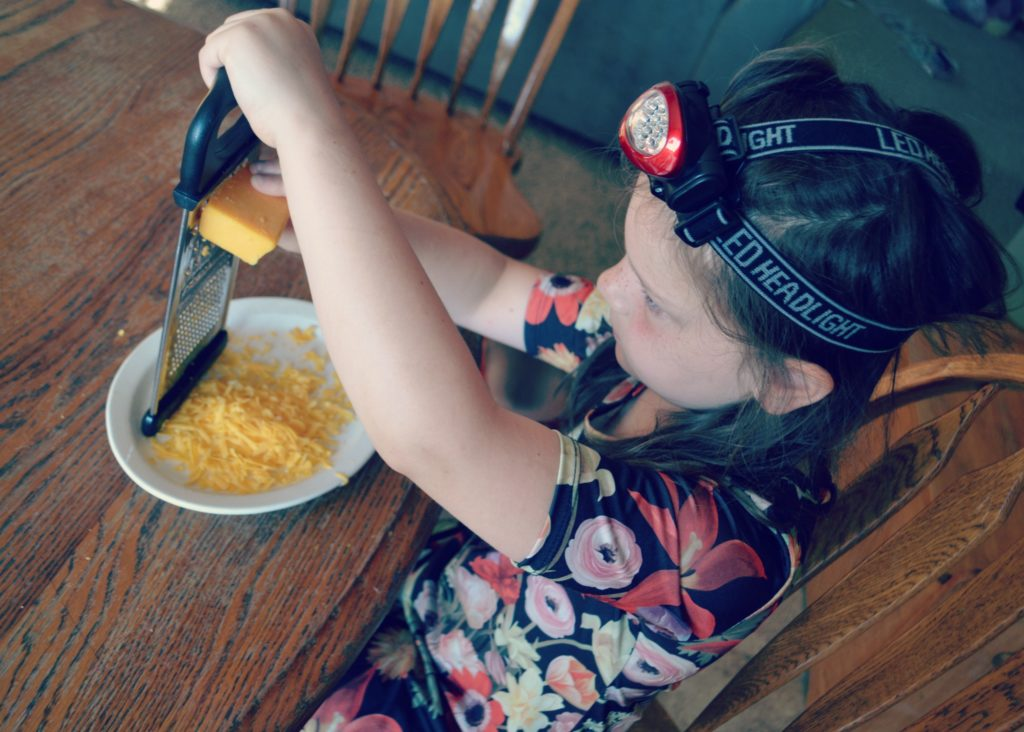 Cheese Grating - Teach Your Kids To Prepare A Meal (screen-free Summer Life Skills Bingo) - Gifted/2e Parenting