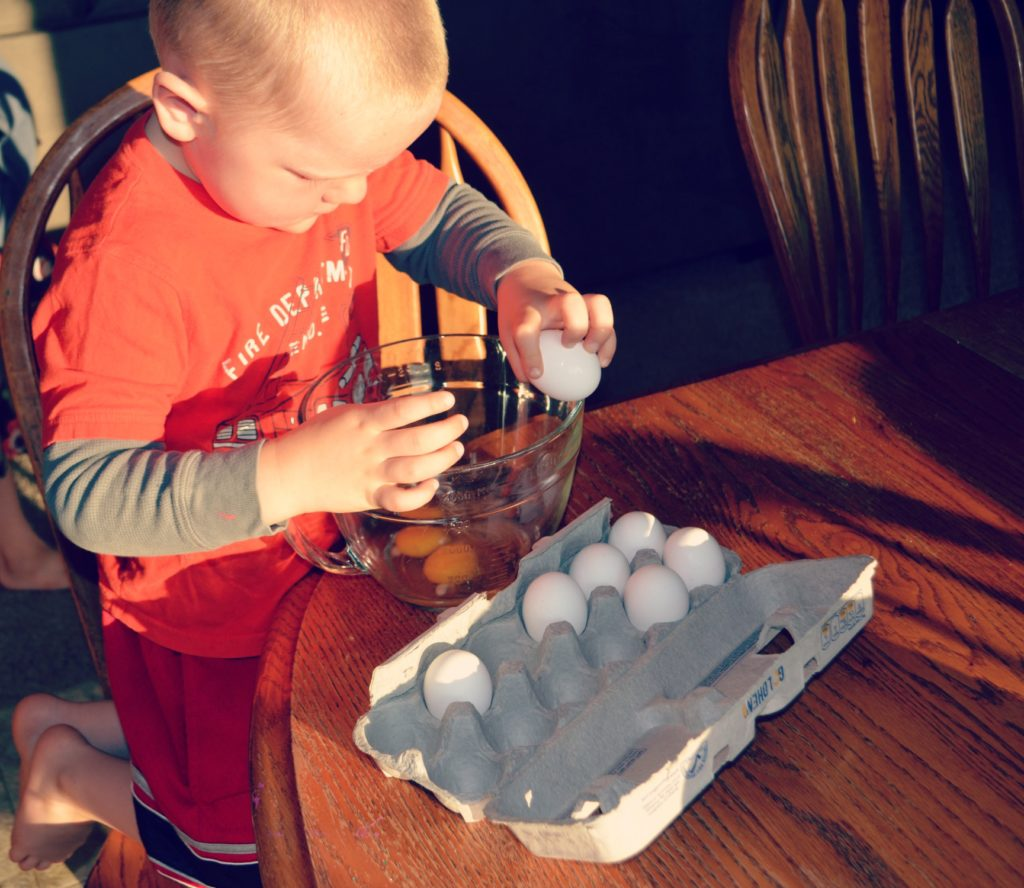 Cracking Eggs - Teach Your Kids To Prepare A Meal (screen-free Summer Life Skills Bingo) - Gifted/2e Parenting