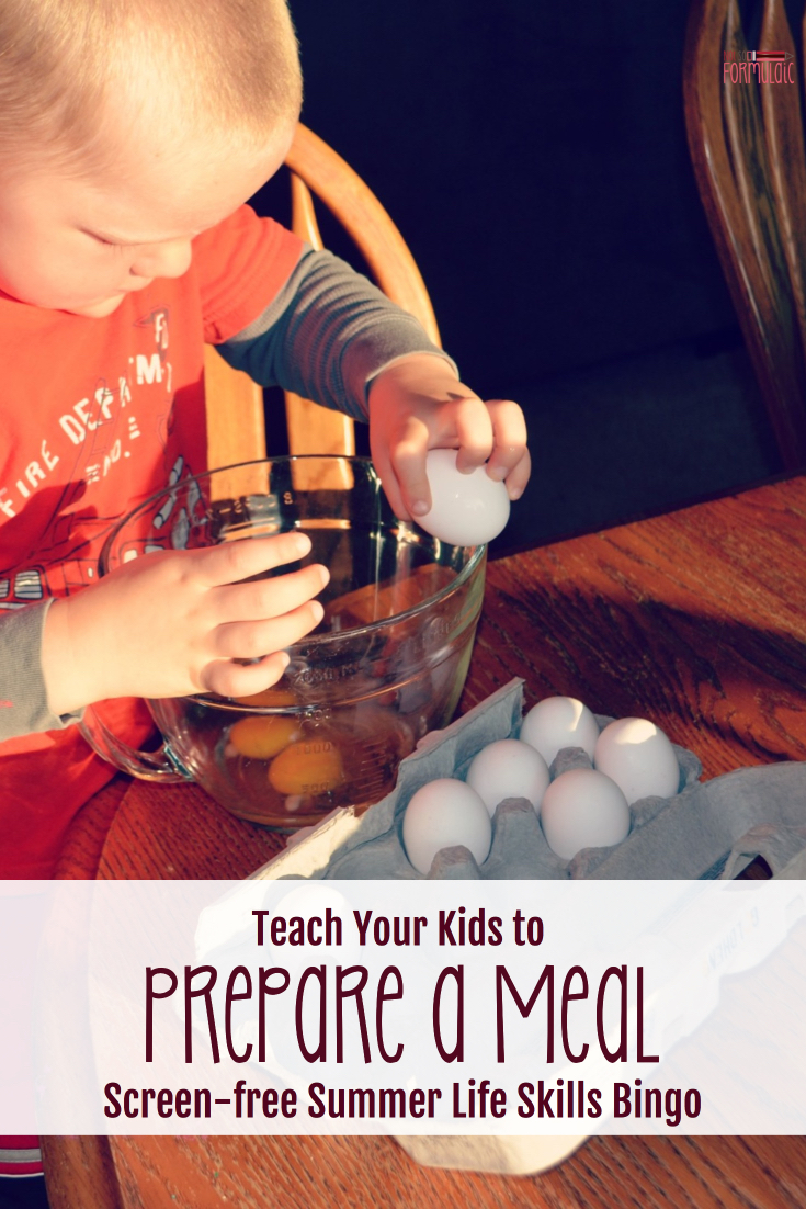 Ready To Hand Off The Reins In The Kitchen Want To Teach Your Kids To Prepare A Meal Alicia From Sweeping Up Joy Has You Covered - Teach Your Kids To Prepare A Meal (screen-free Summer Life Skills Bingo) - Gifted/2e Parenting