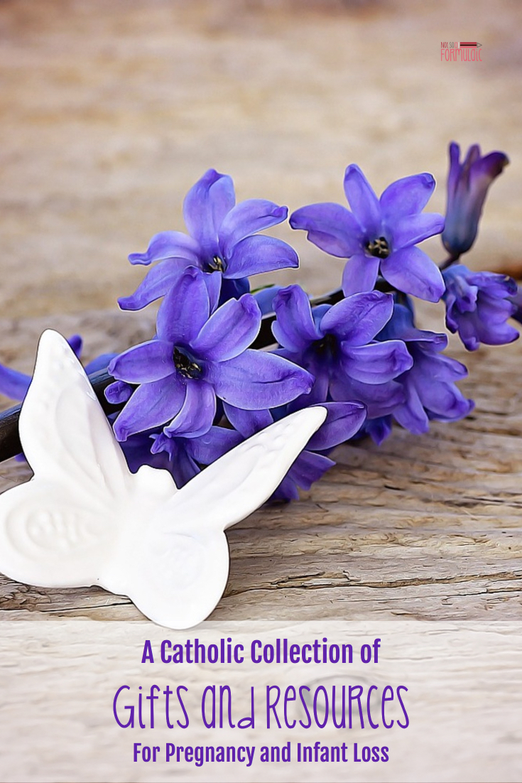 Infantlosspin - Catholic Resources And Gifts For Miscarriage, Stillbirth, And Infant Loss - Catholic Motherhood