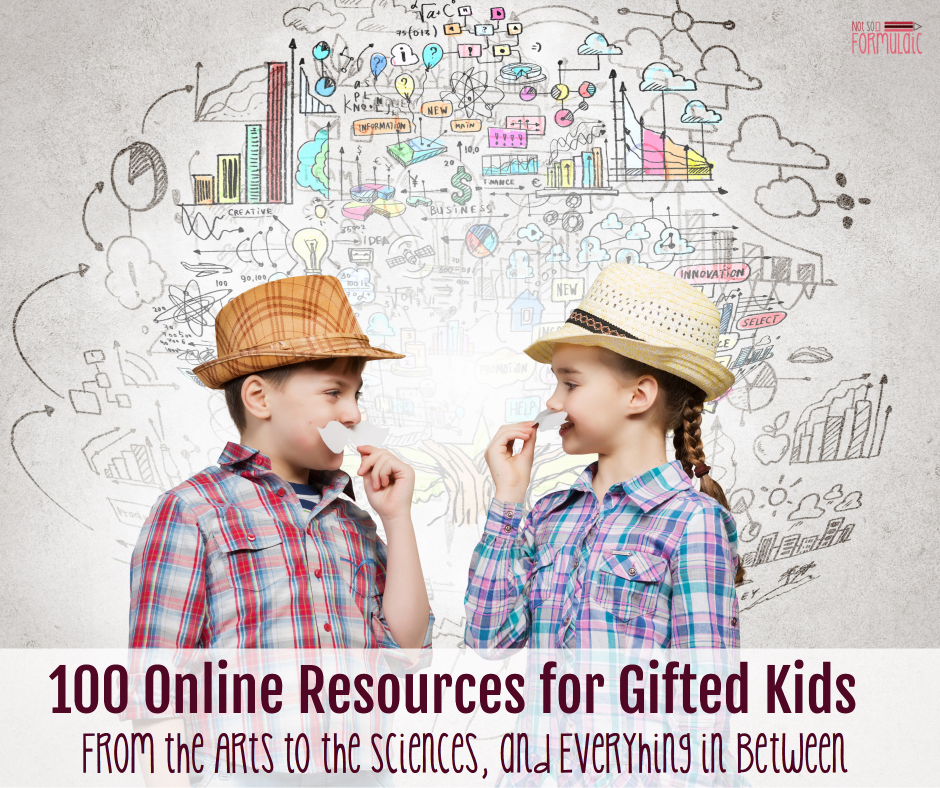 100giftedresources - 100 Resources For Gifted Kids (from The Arts To The Sciences And Everything In Between) - Gifted/2e Parenting