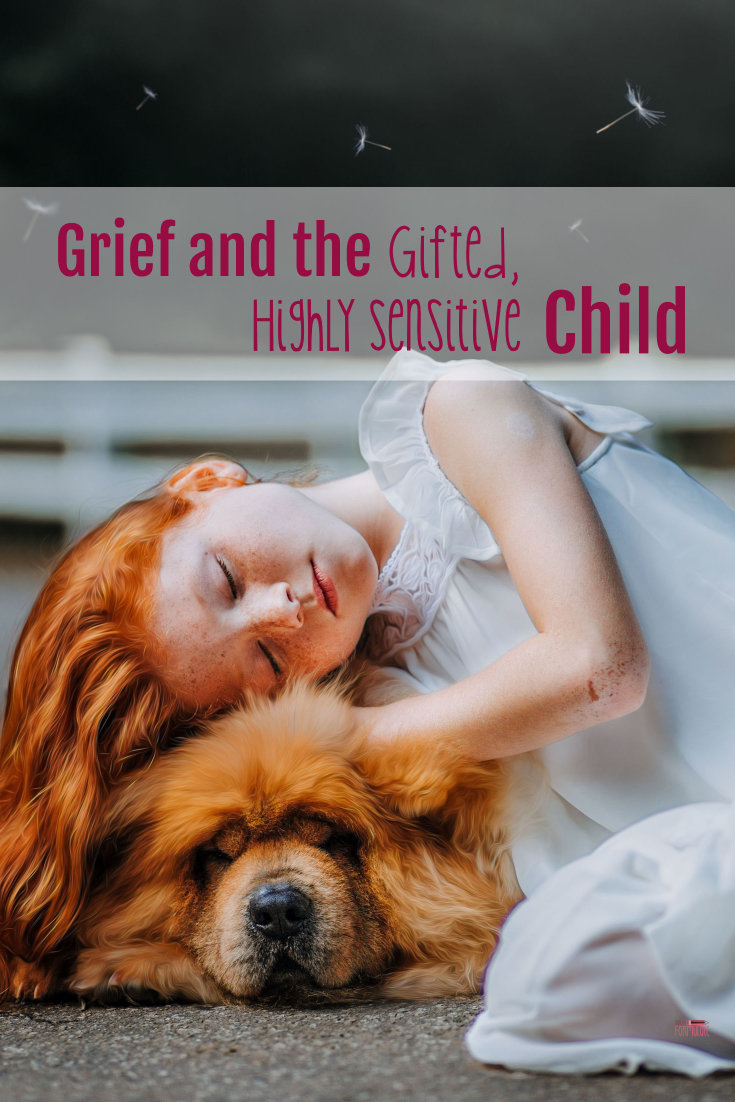 Griefpin - Grief And The Gifted, Highly Sensitive Child - Gifted/2e Parenting