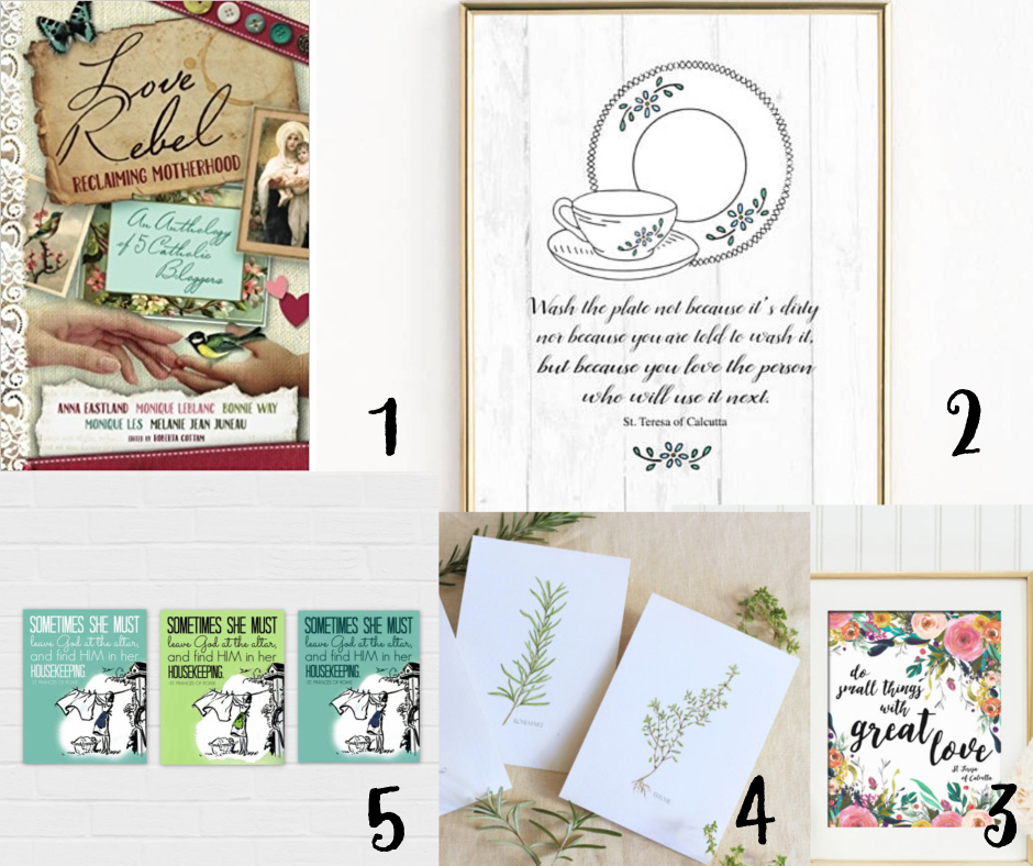 Booksprintables - The Ultimate Gift Guide For Catholic Women 2017 - Gifted/2e Faith Formation