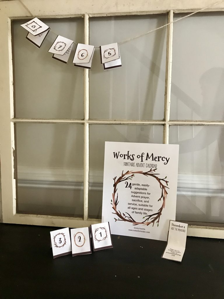 Fullsizeoutput 26da - Works Of Mercy Printable Advent Calendar - Gifted/2e Faith Formation