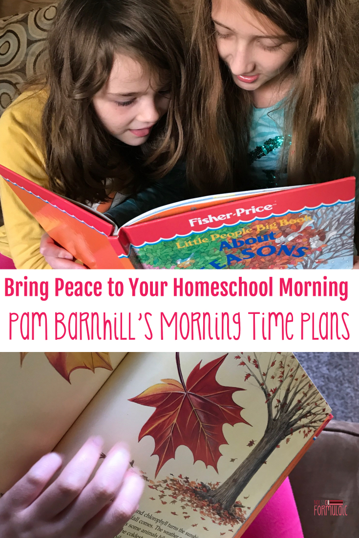 Peaceful Mornings Can Set The Tone For A Successful Homeschool Day Pam Barnhill 039 S Morning Time Plans Have Given Me A Much Needed Buffer And My Children Some Much Needed Fun - How To Bring Peace To Your Homeschool Morning: Pam Barnhill's Morning Time Plans - Gifted/2e Education