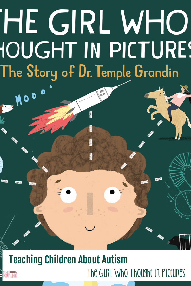 Teachingchildrenaboutautismpin - Teaching Children About Autism: The Girl Who Thought In Pictures - Gifted/2e Parenting
