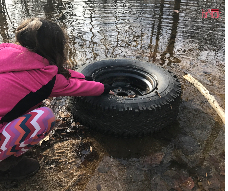 Tire In The Creek - 5 Saints Perfect For Strong-willed Girls And Their Moms - Gifted/2e Faith Formation