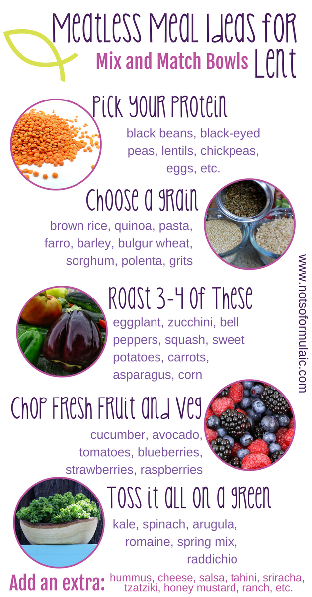 Meatless Meal Ideas For Lent - 70 Resources For Your Best Lent Ever (prayers, Activities, Crafts, And More!) - Gifted/2e Faith Formation