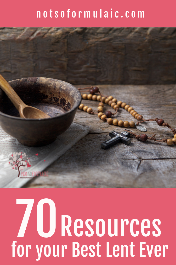 70 Resources For Your Best Lent Ever Crafts Prayers Meditations And More - 70 Resources For Your Best Lent Ever (prayers, Activities, Crafts, And More!) - Gifted/2e Faith Formation