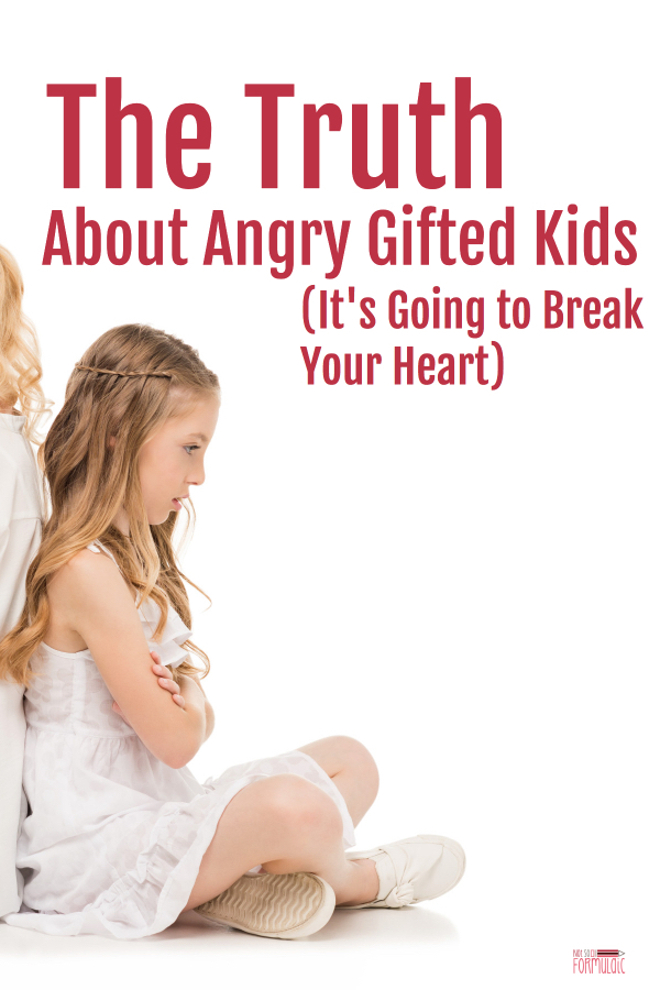 Angry Gifted Kid Pin - Want To Have Your Heart Broken? Take A Close Look At An Angry Gifted Kid - Gifted/2e Parenting