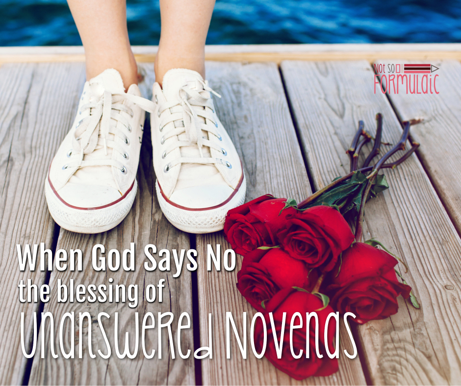 Whengodsaysnofb - Don't You Dare Give Up When God Says No (the Incredible Blessing Of Unanswered Novenas) - Gifted/2e Faith Formation