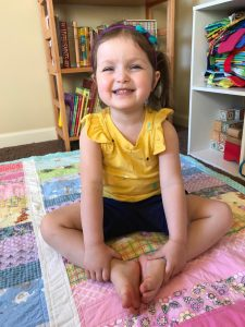 Butterfly Pose - Get Outside And Be Active: Fantastic Fitness Ideas For Kids (screen-free Week 2018) - Gifted/2e Parenting