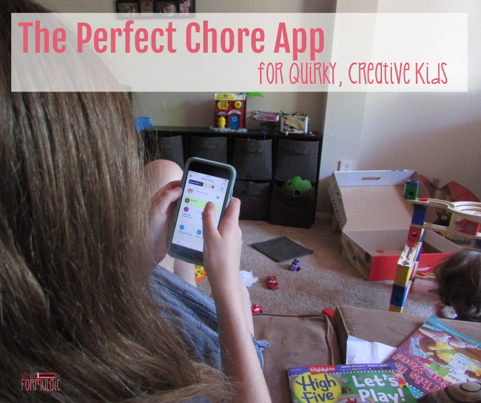Perfect Chore App Facebook - Meet Homey, The Perfect Chore App For Quirky, Creative Kids - Gifted/2e Parenting