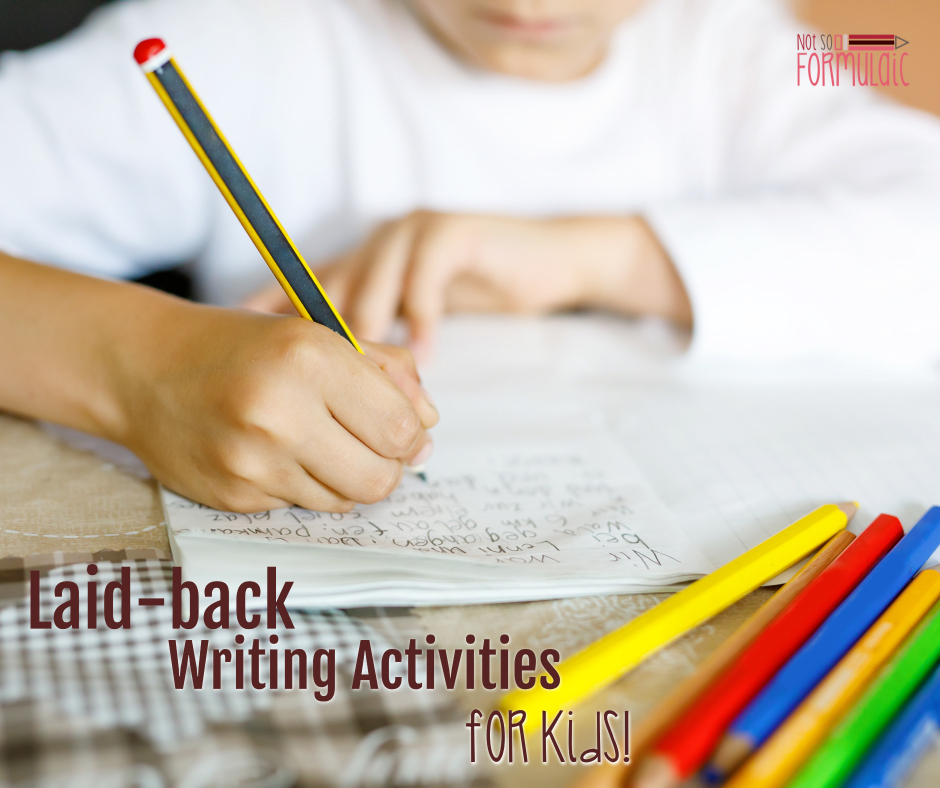 Writing Activities Facebook - Write As A Family: Laid-back Writing Activities For Kids (screen-free Week 2018) - Gifted/2e Parenting