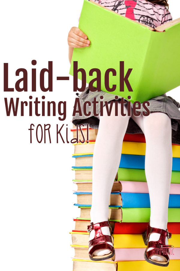Writingactivitiesforkids - Write As A Family: Laid-back Writing Activities For Kids (screen-free Week 2018) - Gifted/2e Parenting