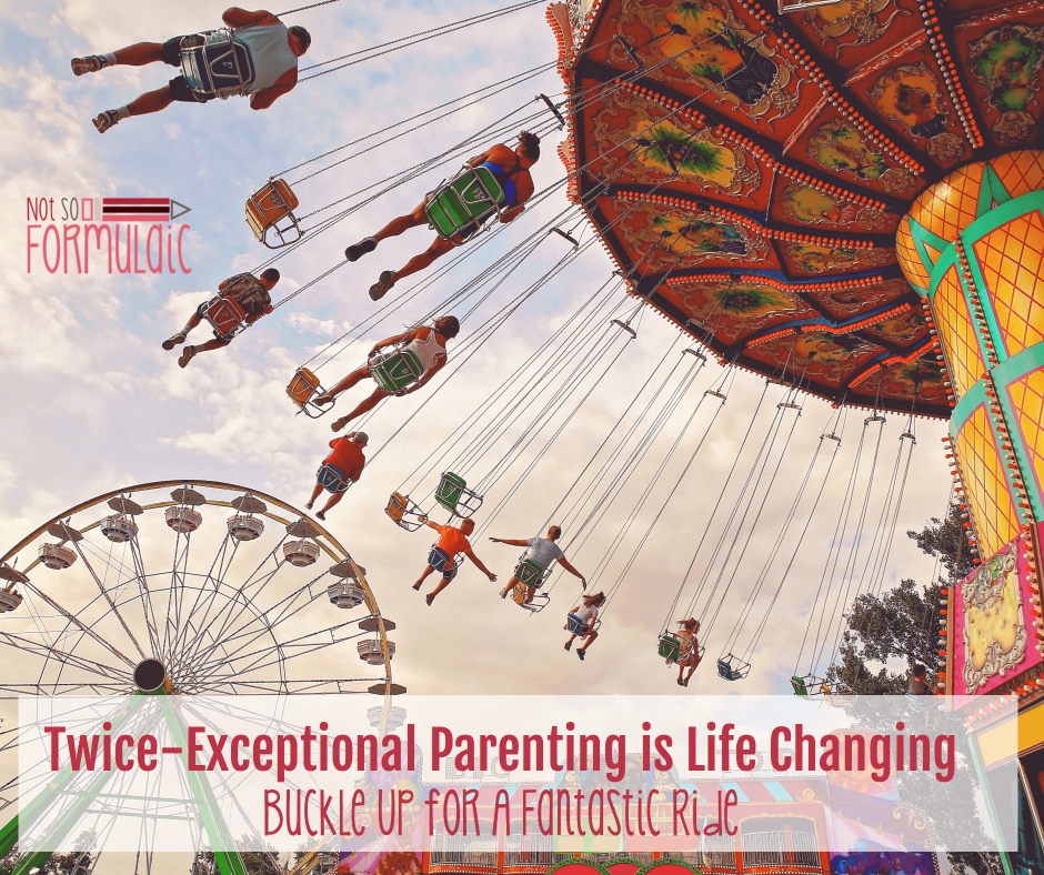 2eparentingislifechangingfb - Twice-exceptional Parenting Is Life-changing. Buckle Up For A Fantastic Ride - Gifted/2e Parenting