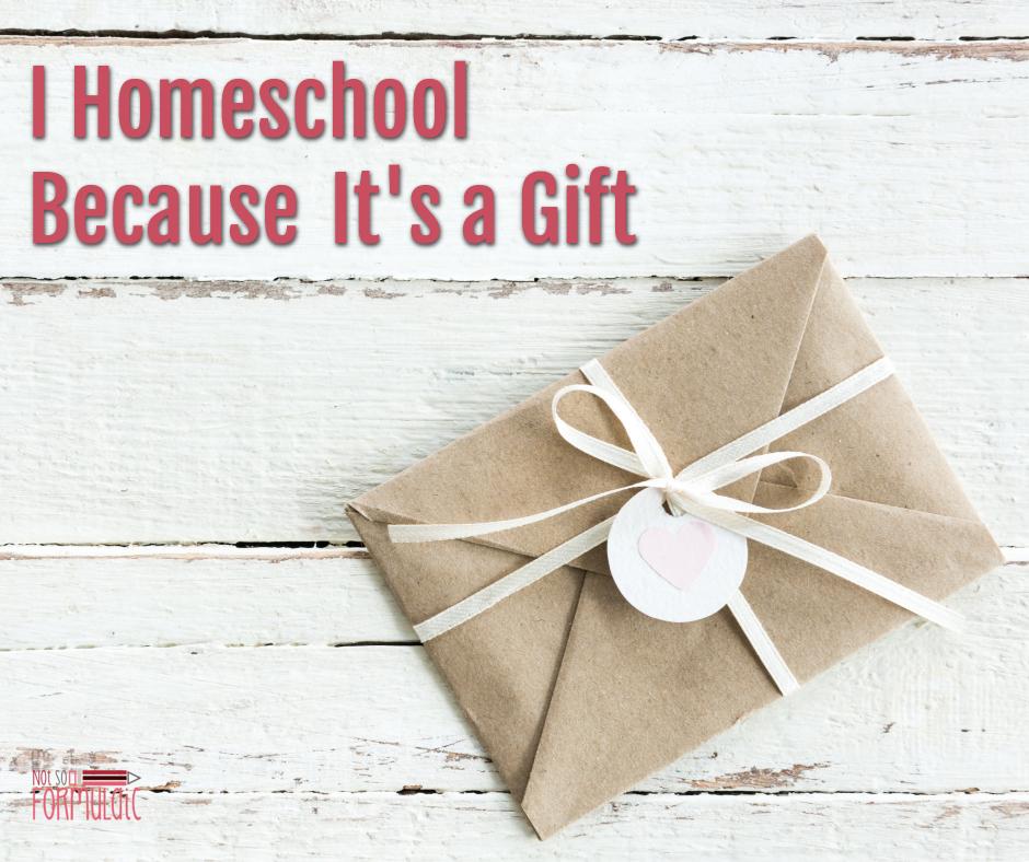Ihomeschoolbecauseitsagiftfb - I Homeschool Because It's A Gift - Gifted/2e Education