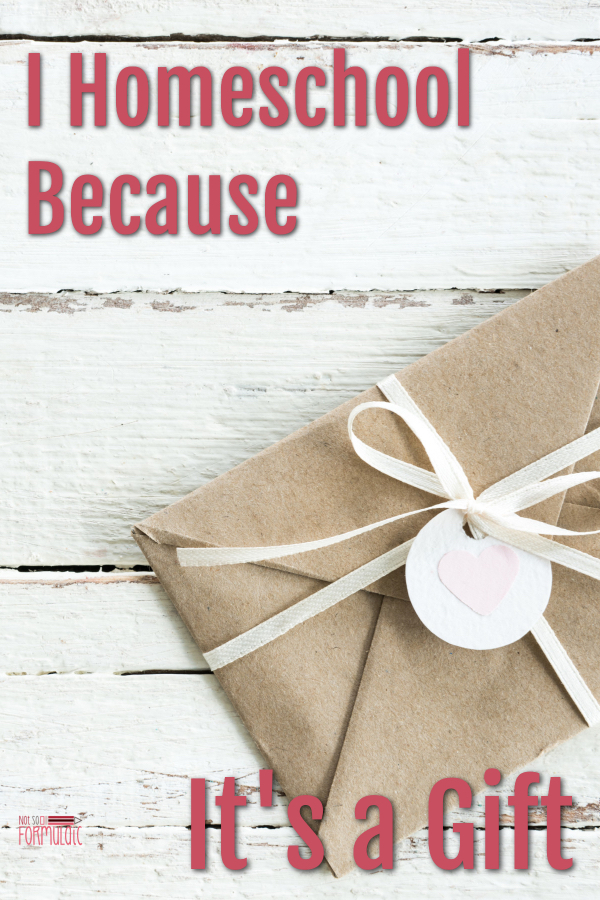 Ihomeschoolbecauseitsagiftpin - I Homeschool Because It's A Gift - Gifted/2e Education