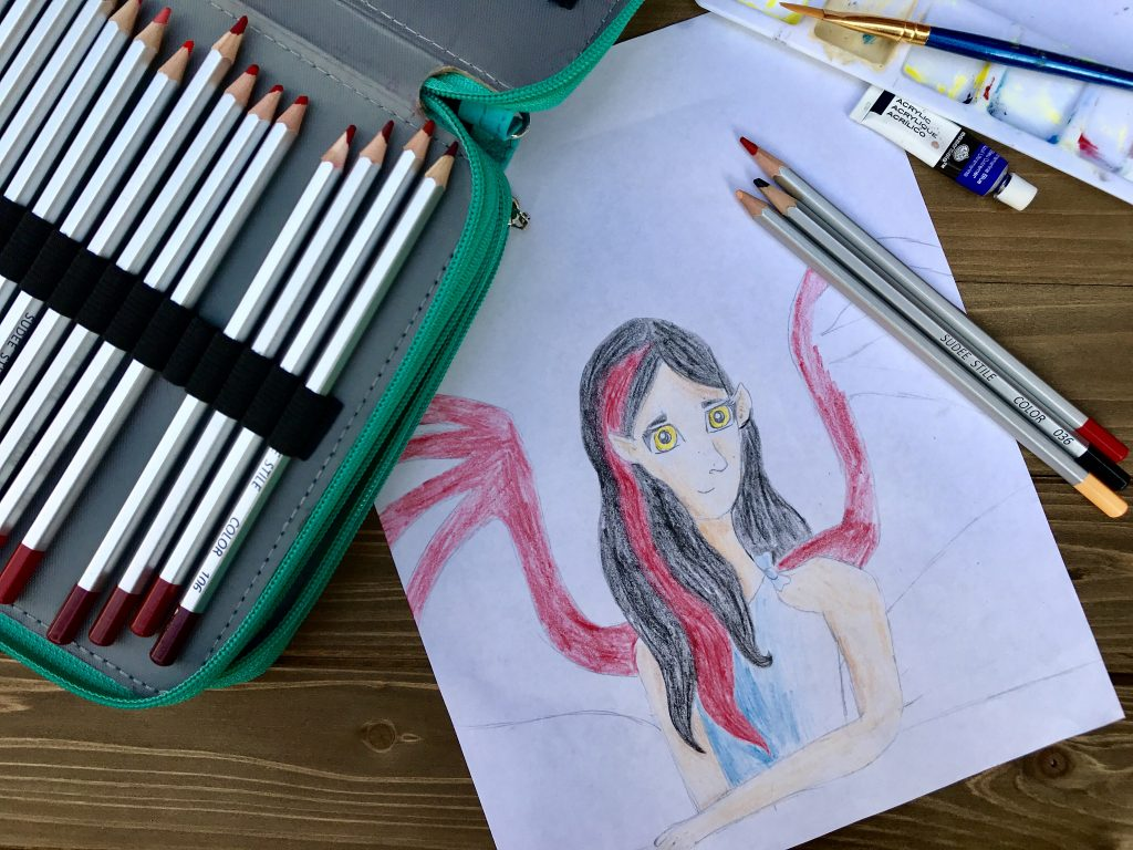 Sparketh 039 S Art Style Portrait Track Teaches Confidence And Art - Gifted/2e Education