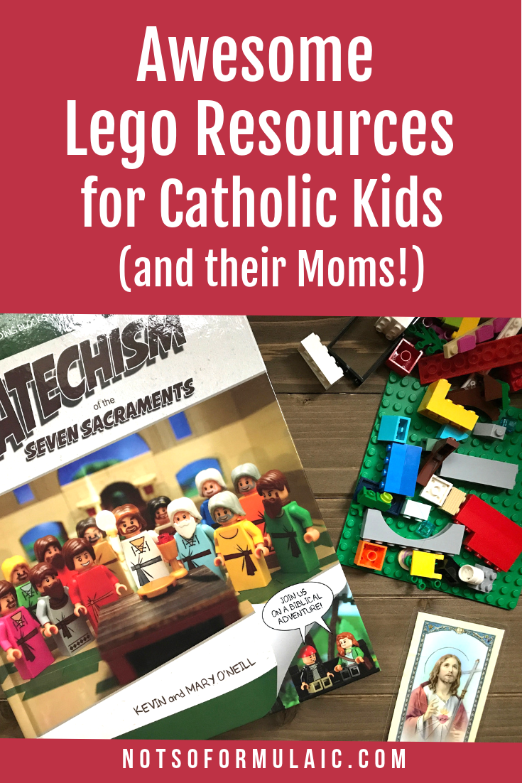 Do Your Kids Love Lego Would You Like To Give Them A Firm Foundation In The Catholic Faith Check Out These 6 Awesome Lego Resources For Catholic Kids And Families You 039 Ll Be Master Builders Of Bricks And The Church In No Time At All - 6 Awesome Lego Resources For Catholic Kids (and Moms, Too!) - Gifted/2e Faith Formation