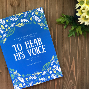 Mass Journal Square - To Hear His Voice: A Mass Journal For Catholic Kids (march Pdf)