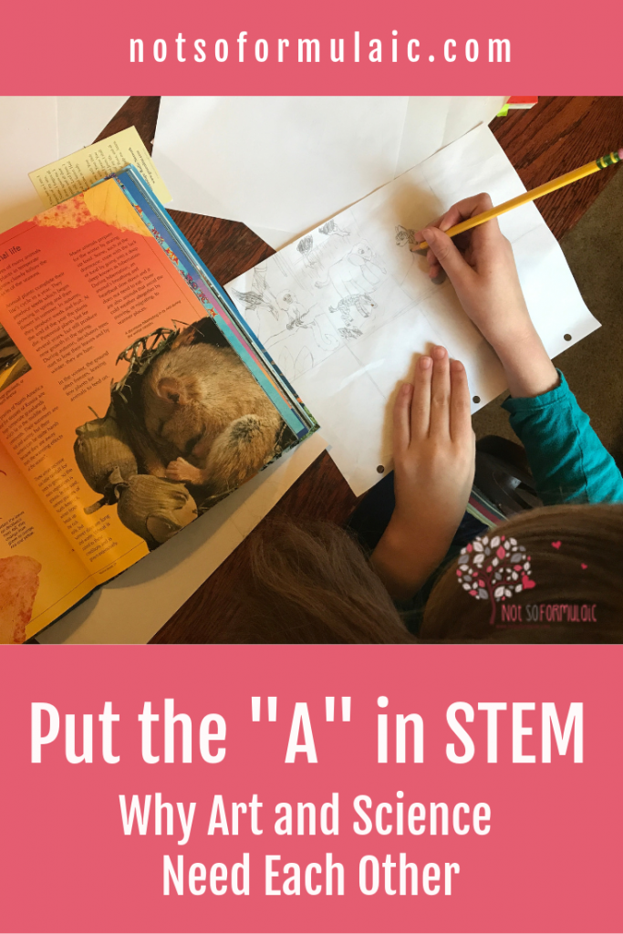 Putting The A In Stem Why Art Matters To Science - Gifted/2e Education