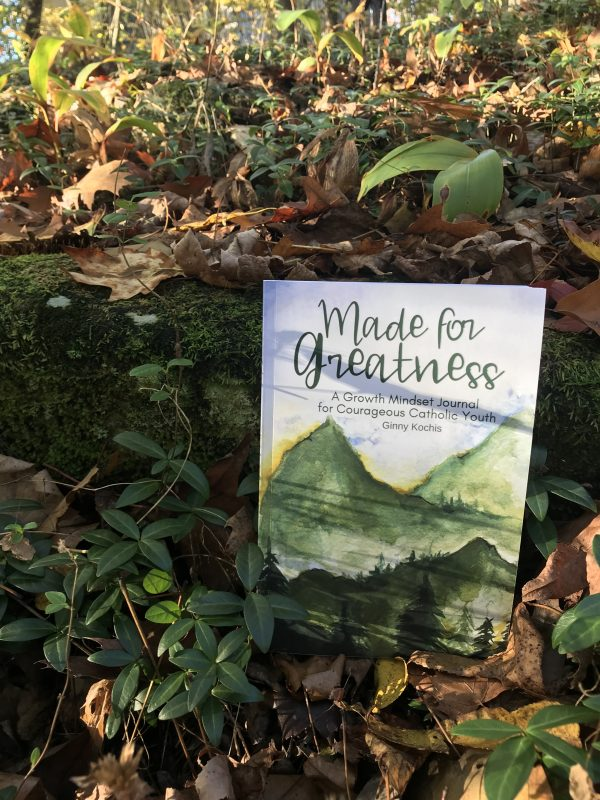 Made For Greatness A Growth Mindset Journal For Courageous Catholic Youth