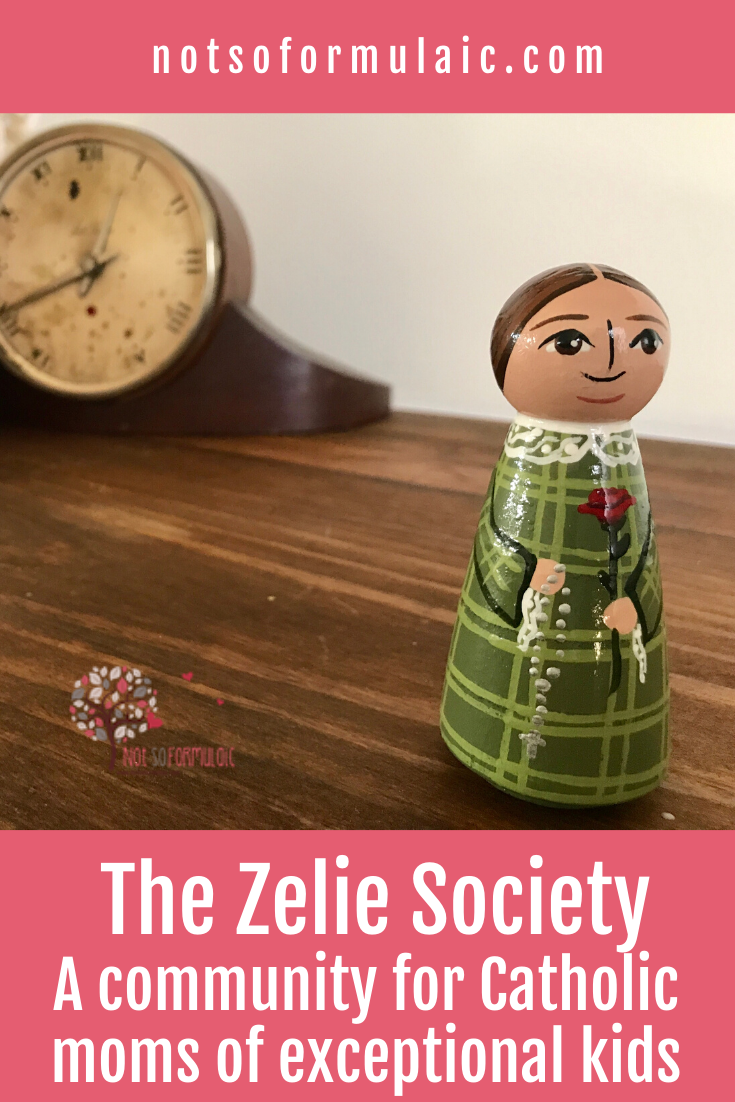 Annual Membership For The Zelie Society A Community For Catholic Moms Of Differently Wired Kids - The Zelie Society Annual Membership