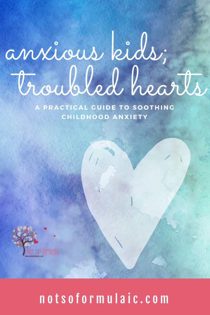 Anxious Kids Troubled Hearts Guide To Anxiety - Store