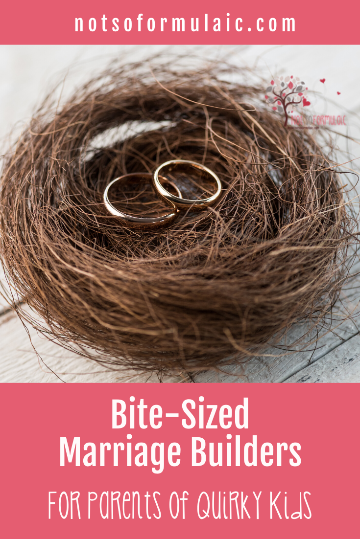 Refresh Your Marriage In A Weekend Post Pin - Refresh Your Marriage In A Weekend: Bite-sized Marriage Builders For Parents Of Differently-wired Kids